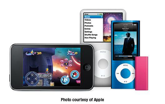 ���� - Apple-Debüts Neue und verbesserte 2009 iPods