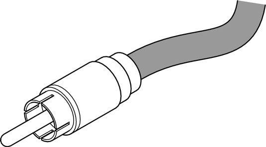 Ein RCA-Stecker ist in erster Linie auf die Verbraucher Stereo und einige semipro Audiogeräte verwendet.
