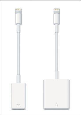 ���� - Grundlagen des iPad Mini Lightning-to-USB-Kamera-Adapter