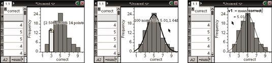 ���� - Ändern Sie Histogramm Variablen und Legen Sie eine Normalkurve