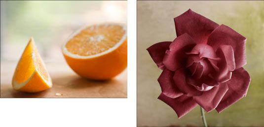 Bilder mit dem Makro-Funktion auf einem Zoom-Makro-Objektiv.