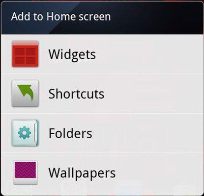 ���� - Passen Sie das Droid Bionic Home Screen