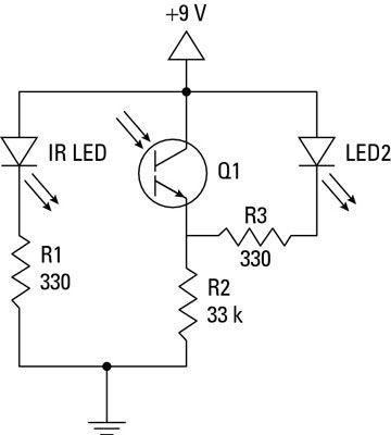 ���� - Elektronische Projekte: Wie baue ich ein Common-Collector Proximity Detector
