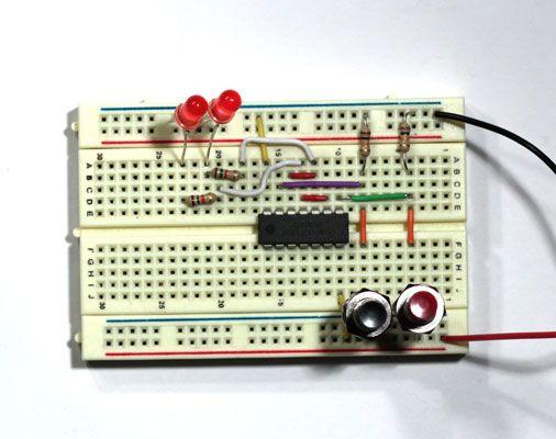 ���� - Elektronische Projekte: Wie eine Latch-Schaltung zu bauen