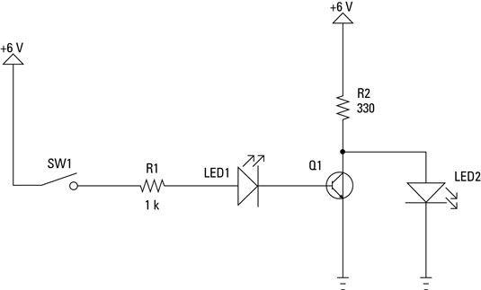���� - Elektronische Projekte: Wie ein NOT-Gate-Schaltung zu bauen