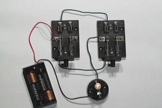 ���� - Elektronische Projekte: Wie baue ich eine Drei-Wege-Scheinwerfer-Schalter