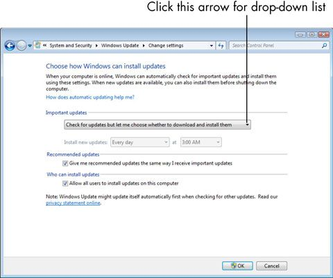 ���� - Für Senioren: Wie Microsoft Windows Update-Optionen zu verstehen,