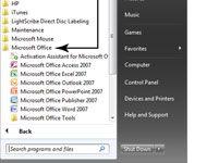 ���� - Für Senioren: Starten Sie ein Windows-Programm auf einem Laptop