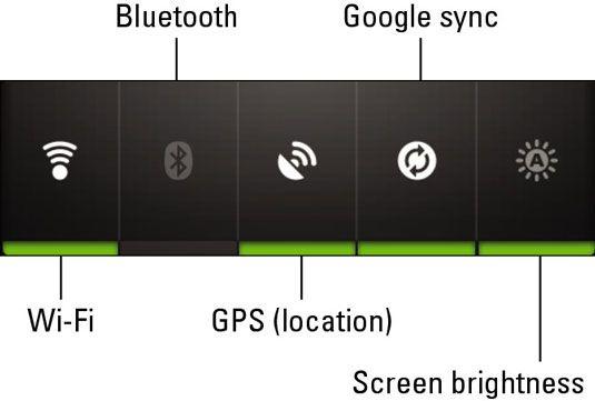 ���� - Wie Wi-Fi auf dem Droid Bionic zu aktivieren