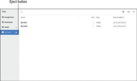 ���� - Wie Hinzufügen und Verwenden External Storage auf dem Chromebook