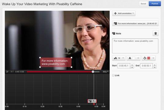���� - Wie Anmerkungen zu Ihrem Marketing-Videos auf YouTube hinzufügen