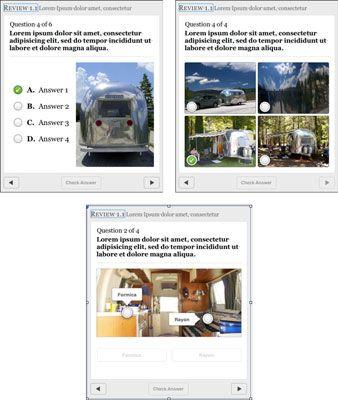 ���� - Wie Hinzufügen Kontrollfragen zu Ihrem iBooks Autor Text