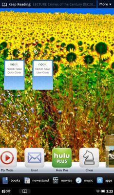 ���� - Wie Hinzufügen Wallpaper auf dem Home-Bildschirm des NOOK Tablet