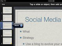 ���� - Wie man Animieren Transitions in der Keynote App für das iPad