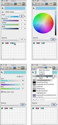 ���� - Wie Farben bewerben in iBooks Autor zu Text