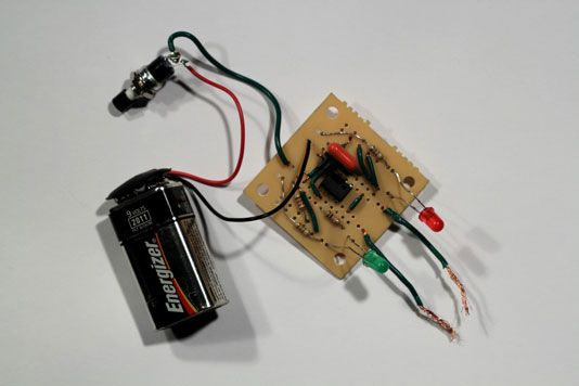 ���� - Wie eine elektronische Coin-Toss Schaltung zu bauen