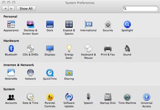 ���� - Wie Ändern Erweiterte Mac Systemeinstellungen