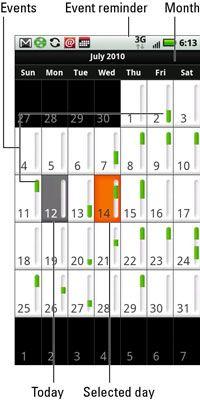 ���� - Wie Sie Ihre Zeitplan mit dem Droid X Kalender App zu prüfen