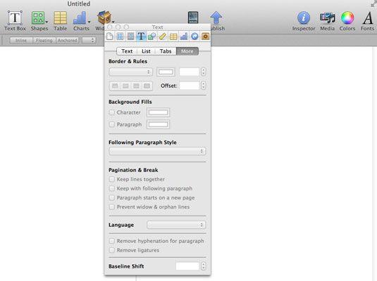 ���� - Wie Hyphenation und Zeilenumbrüche in iBooks Autor Steuerung
