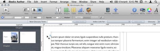���� - So steuern Sie Textfluss in iBooks Author