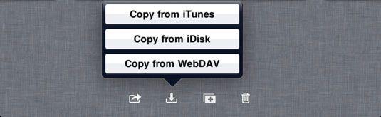 ���� - So kopieren Sie Dateien auf und von iWork für iPad