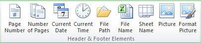 Mit Excel 2007 können Sie eine benutzerdefinierte Kopf- oder Fußzeile in dem Arbeitsblatt erstellen.