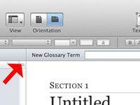 ���� - Wie ein Glossar in iBooks Author erstellen