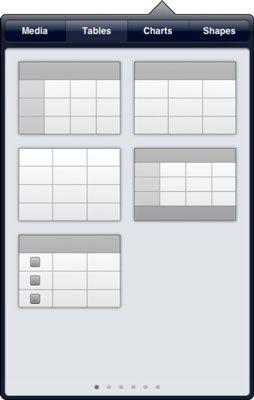 ���� - Wie eine neue Tabelle in die Zahlen App für das iPad zu erstellen
