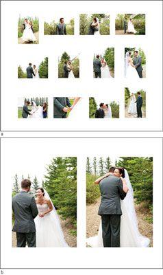 ���� - Wie man ein Album von der Hochzeitsfotografie zu erstellen