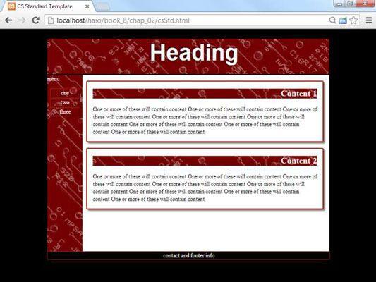 ���� - So erstellen Sie Seitenvorlagen für Ihre HTML5 und CSS3 Site Template