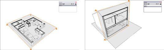 ���� - So erstellen Sie Abschnitt Animationen mit Szenen in Google SketchUp 8