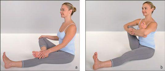 ���� - Wie kommen Sie Seated Yoga Warm-Up Postures