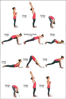 ���� - Wie die erweiterte 12-Step Yoga Sonnengruß zu tun