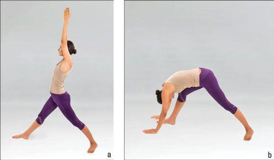 ���� - Wie die Asymmetrische Vorwärtsbeuge (Parshva Uttanasana) in Yoga zu tun