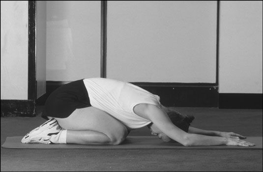 ���� - Wie die Kindposition in Yoga zu tun