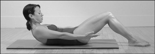 Die Pilates-Bauch.
