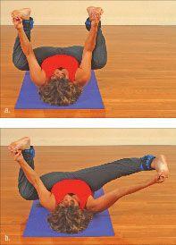 ���� - Wie wird die Yoga-mit-Gewichte Frosch Übung zu tun