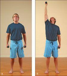 ���� - Wie die Yoga-mit-Gewichte Himmel und Erde Übung zu tun