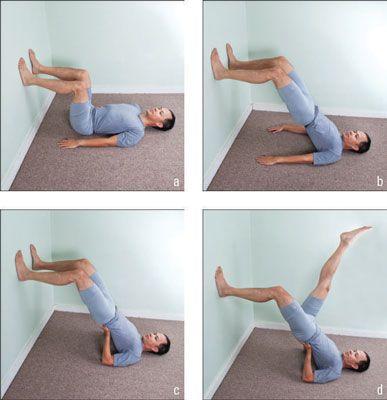 ���� - Wie kommen Sie Yoga-Schulter-Stände