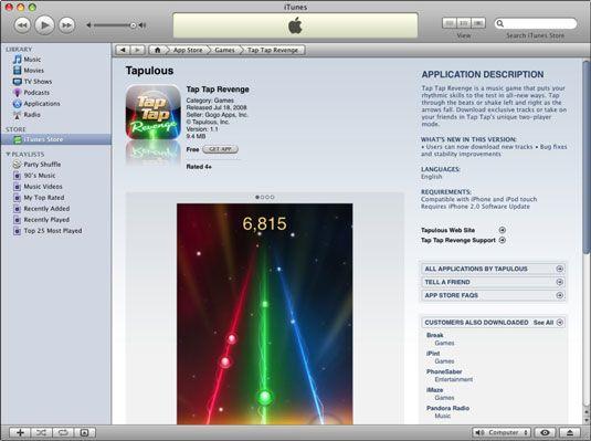���� - So finden Sie Informationen über eine iPhone App in iTunes