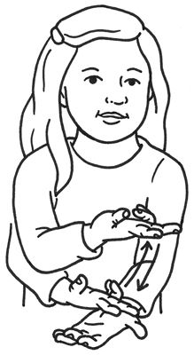 ���� - So identifizieren Hoftiere in American Sign Language