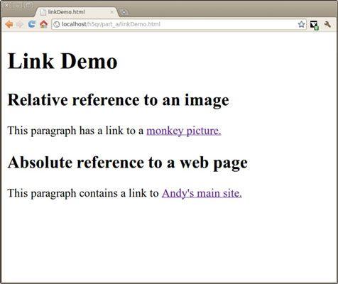 ���� - Wie man auch Links in Ihre HTML5 Web-Seite