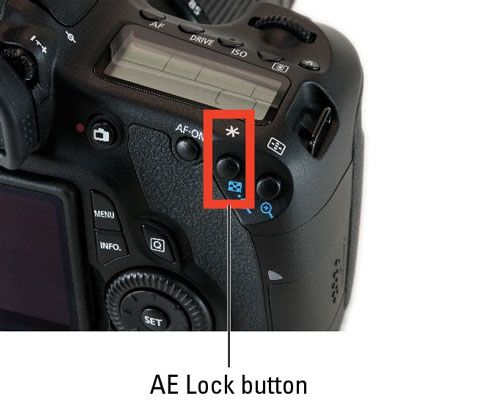 ���� - Wie sperren Autoexposure Einstellungen auf einer Canon EOS 60D