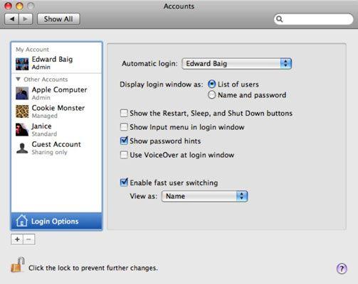 ���� - So melden Sie sich an Ihrem Mac
