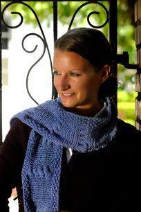 ���� - Wie man ein Kabel Schal von Knitting Längs zu machen