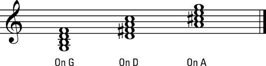 ���� - Wie man spielt Dominant 7ths auf der Violine