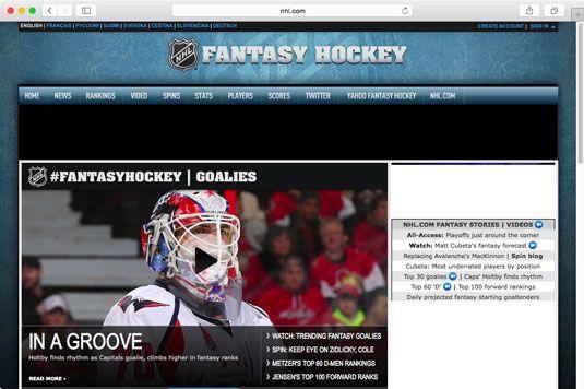 ���� - Wie man spielt Fantasie-Hockey-Online