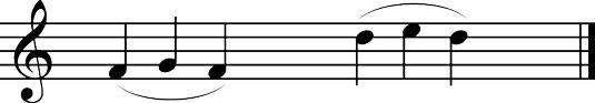 ���� - Wie man spielt Drei Notizen in einem Bogenstrich auf der Violine