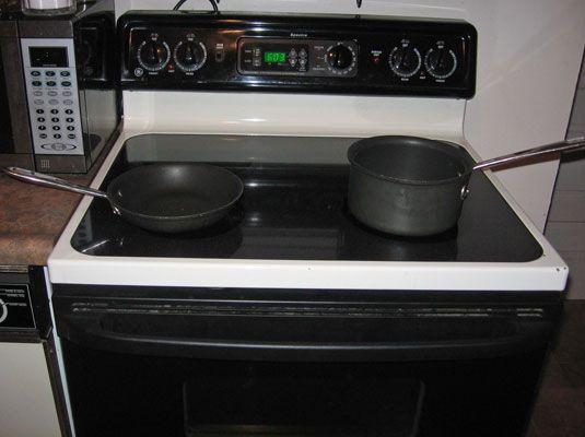 ���� - Küche brennt wie zu verhindern
