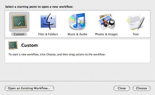 ���� - Wie sich wiederholende Aufgaben zu Programmieren Sie die Mac Automator